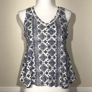 Lucky Brand Women's Shirt Top Blouse Cotton